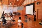 城川小学校でジオ学習を行いました。