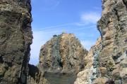 黒瀬川構造帯を構成する地層